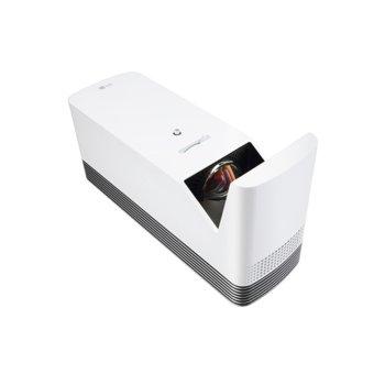 Проектор LG ProBeam HF85JG, DLP, Full HD (1920x1080), 150 000:1, 1500 lm, Wi-Fi, 2x HDMI, 1x RJ-45, 1x Toslink, 3.5mm жак, 2x USB A image