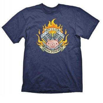Тениска Gaya Entertainment Overwatch Roadhog, размер M, синя image