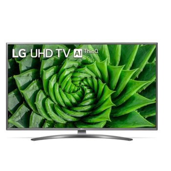 "Телевизор LG 43UN81003LB, 43"" (109.22 cm) LED Smart TV, Ultra HD, DVB-T2/C/S2, Wi-Fi, LAN, Bluetooth, 4x HDMI, 4x USB, енергиен клас G image"