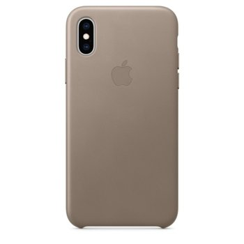 Apple iPhone XS Leather Case - Taupe product