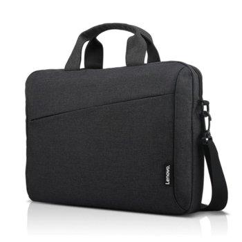 "Чанта за лаптоп Lenovo Toploader T210 Black ROW, до 15.6"" (39.624 cm), водоустойчива, черна image"