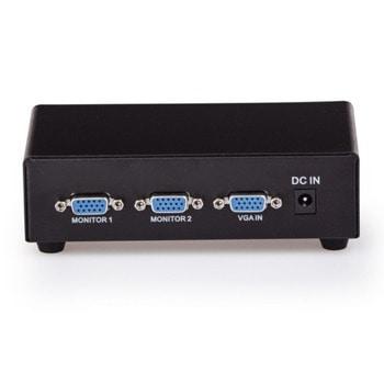 Сплитер VCom DD132, 1x D-Sub вход към 2x D-Sub изхода image