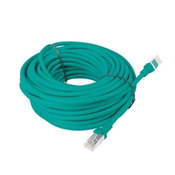 Пач кабел Lanberg PCF5-10CC-1500-G, FTP, cat.5e, 15м, зелен image