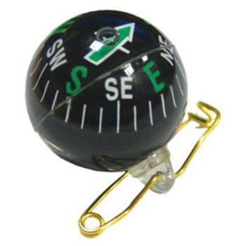 Компас брошка UST, светлинната стрелка, черен image
