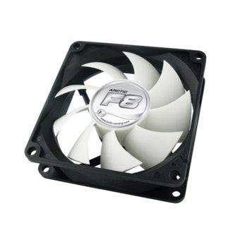 Вентилатор 80mm, Arctic Fan F8, Fluid Dynamic Bearing image