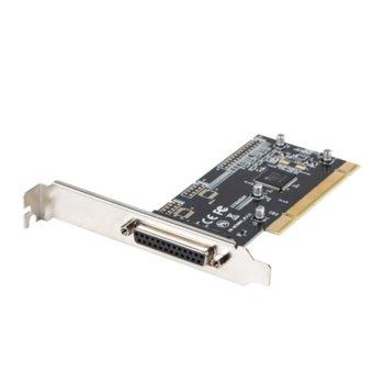 Контролер Lanberg PCI-US2-005, от PCIe x1(м) към Parallel (ж) image