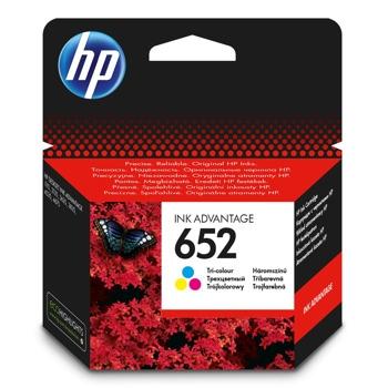 ГЛАВА HP DeskJet Ink Advantage 1115, 2135, 3635, 3775, 3785, 3787, 3835, 4535, 4675/DeskJet IA 3835 - Color - (652) - P№ F6V24AE - заб.: 200 брой копия image
