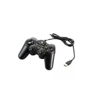Геймпад Estillo USB 703 Dual Vibration, USB, (черен) image