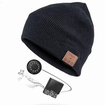 Слушалки 4smarts Basic Beanie, безжични, черни image