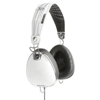 Слушалки SkullCandy Roc Nation Aviator, микрофон, честотен диапазон 20-20kHz, бял image
