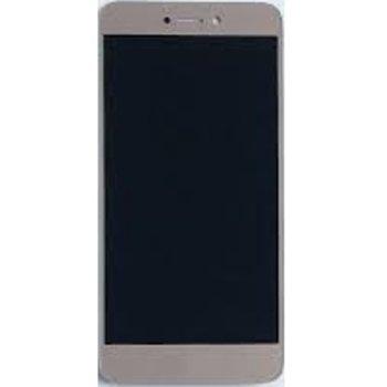 """Дисплей за Huawei Honor 8 Lite 5.2"""" / P8 Lite 2017 / P9 Lite 2017 LCD с тъч, оригинален, златен image"""