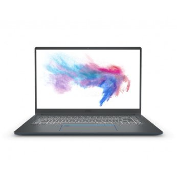 "Лаптоп MSI Prestige 15 A10SC (9S7-16S311-271), шестядрен Comet Lake Intel Core i7-10710U 1.1/4.7 GHz, 15.6"" (39.62 cm) Full HD Anti-Glare IPS Display & GTX 1650 4GB, (HDMI), 16GB DD4, 512GB SSD, 2x Thunderbolt 3, No OS image"