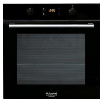 Вградена фурна Hotpoint-Ariston FA2 841 JH BL HA, A+, 71L, система на почистване Diamond Clean, черно image