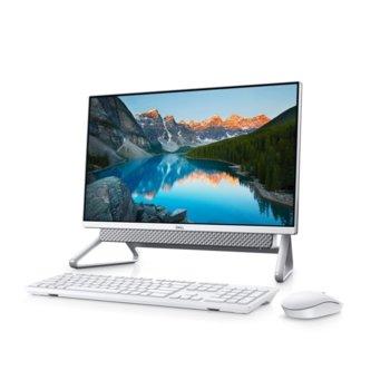 "All In One компютър Dell Inspiron AIO 5400 (5397184444368), четириядрен Tiger Lake Intel Core i5-1135G7 4.20 GHz, 23.8"" (60.45 cm) Full HD Anti-Glare Narrow Border Infinity Display & GF MX330 2GB, 8GB DDR4, 512GB SSD, Windows 10 Home  image"