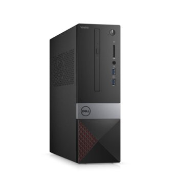 Настолен компютър Dell Vostro 3471 SFF (N207VD3471EMEA01_R2005_22NM), шестядрен Coffee Lake Intel Core i5-9400 2.9/4.1 GHz, 8GB DDR4, 256GB SSD, 2x USB 3.1, клавиатура и мишка, Windows 10 Pro  image