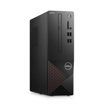 Настолен компютър Dell Vostro 3681 SFF (N509VD3681EMEA01_2101_KBM), шестядрен Comet Lake Intel Core i5-10400 2.9/4.3 GHz, 8GB DDR4, 512GB SSD, 4x USB 3.2, клавиатура и мишка, Windows 10 Pro image