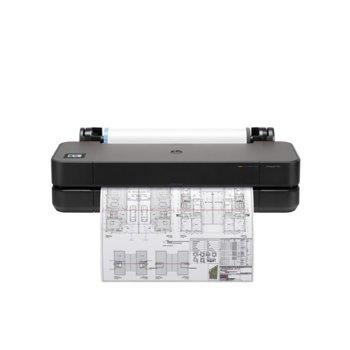 Плотер HP DesignJet T250, 2400 x 1200 dpi, 512MB, LAN, Wi-Fi, USB, A4, A3, A2, A1 image