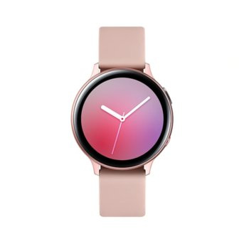 Смарт часовник Samsung Galaxy Watch Active2 SM-R820N (SM-R820NZDABGL), до 131 часа време за работа, алуминиев, розово злато image