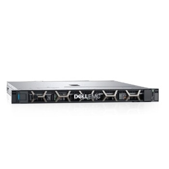 Сървър Dell PowerEdge R240 (PER240CEEM02), четириядрен Coffee Lake Intel Xeon E-2224 3.4/4.6GHz, 16GB ECC UDIMM, 1TB HDD, 2x 1GbE LOM, 3x USB 3.0, 450W PSU image