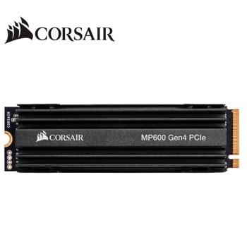 Памет SSD 1TB Corsair Force MP600, NVMe Gen4, M.2 (2280), скорост на четене 4,950 MB/s, скорост на запис 4,250 MB/s image