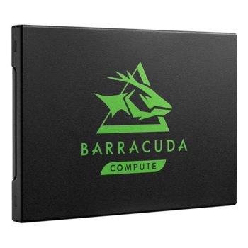 """Памет SSD 500GB, Seagate BarraCuda 120 (ZA500CM1A003), SATA3 6GB/s, 2.5""""(6.35 cm), скорост на четене 560 MB/s, скорост на запис 540 MB/s image"""