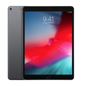 "Таблет Apple iPad Air 3 MV0D2HC/A 4G (тъмно сив), 10.5""(26.67 см) IPS LCD Display, шестядрен Vortex 2.5GHz, 3GB RAM, 64GB Flash памет, 8 & 7 Mpix camera, iOS, 464g image"