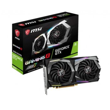 Видео карта Nvidia GeForce GTX 1660, 6GB, MSI Gaming X, PCI-E, GDDR5, 192-bit, DisplayPort, HDMI image
