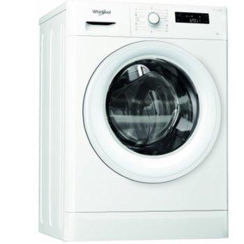 Перална машина Whirlpool FWSF61053W EU, клас А+++, 6кг. капацитет, 1000 оборота в минута, 14 програми, свободностояща, 60 cm. ширина, бяла image
