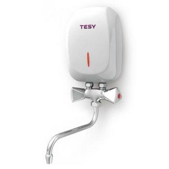 Електрически бойлер Tesy IWH 35 X02 KI, 10 л., 3.5 kW, 13.0 x 20.0 x 7.6 cm, бял image