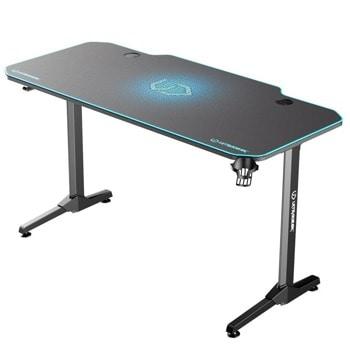 Компютърно бюро Ultradesk Frag (UDESK-FG-BL), 140 x 66 x 75 cm, държач за слушалки, стойка за чаша, поставка за геймпадове, 2x USB 3.0, синьо image