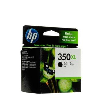 ГЛАВА HP Deskjet D4260 Printer series, Officejet J5780/J5785 All-in-One series - Black (350XL) - P№ CB336EE - заб.: 25ml image