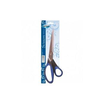 Ножица Centrum, 25 cm, със сини дръжки image