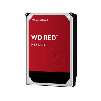 "Твърд диск 6TB WD Red NAS, SATA 6 Gb/s, 5400rpm, 256MB, 3.5"" (8.89 cm) image"