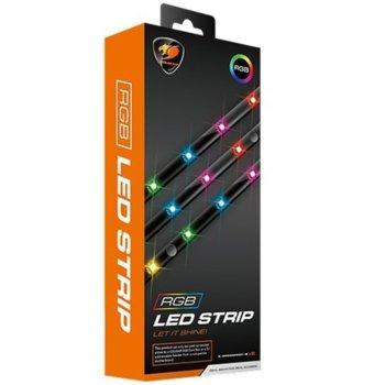 LED лента Cougar ARGB LED STRIP, RGB, 450mm image