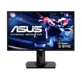 "Монитор Asus VG248QG, 24.0"" (60.96 cm) TN панел, 165Hz, Full HD, 1ms, 100000000:1, 350 cd/m2, HDMI, DisplayPort, DVI-D image"