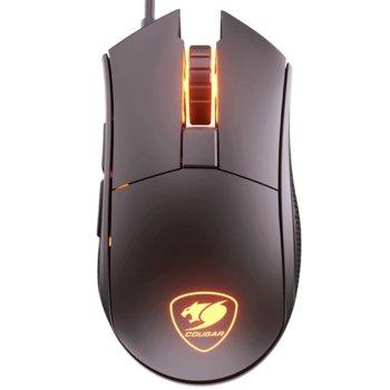 Мишка COUGAR Revenger ST PixArt PMW3325, оптична (5000 DPI), USB, черна, RGB, гейминг image