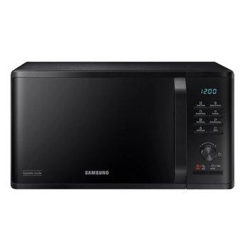 Микровълнова фурна Samsung MS23K3515AK/OL, електронно управление, 800W, 23л. обем, черна image