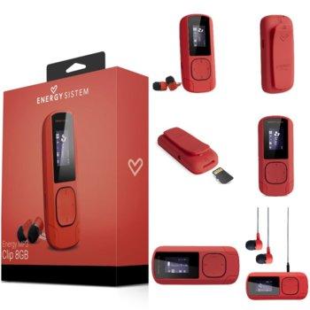 MP3 плейър Energy Sistem 42648, 8GB, 2.032cm дисплей, корал image