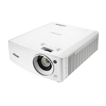 Проектор Vivitek DH4661Z, DLP, 3D Ready, Full HD (1920x1080), 20 000:1, 5000 lm, 3x HDMI, VGA, 2x RJ-45, USB, бял image
