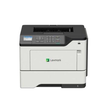 Лазерен принтер Lexmark B2650dw A4, монохромен, 1200 x 1200 dpi, 47 стр/мин, USB, LAN, Wi-Fi, A4 image