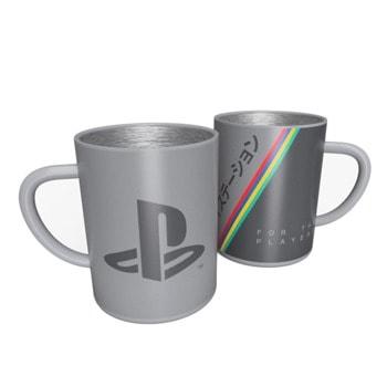 Чаша PlayStation 25th Anniversary Steel Mug, стоманена image