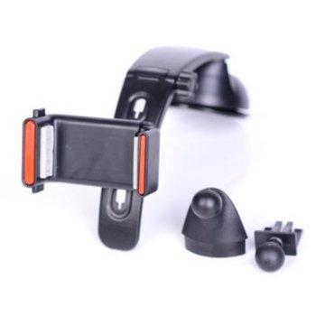 Стойка за кола CAR Phone Stand MCH JHD-301, универсална, черна image
