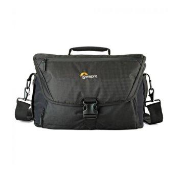 Чанта за фотоапарат Lowepro Nova 200 AW II, за DSLR фотоапарати и обективи, черна image