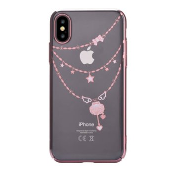Devia CrystalShell for Apple iPhone XS pink gold product