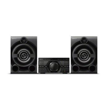 Аудио система Sony MHC-M60D, 2.0, Bluetooth, USB, черен image