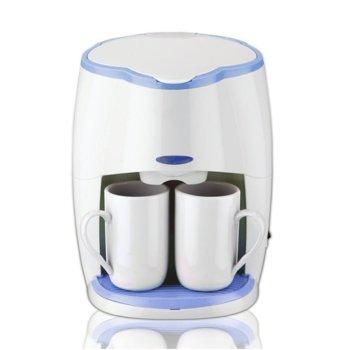 Кафемашина с подарък 2 чаши Sapir SP 1170 L, 450W, разглобяем филтър, LED индикатор, бяла image