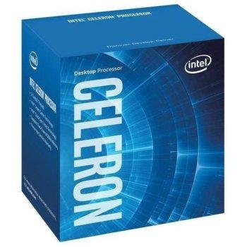 Процесор Intel Celeron G4900 двуядрен (3.1GHz, 2MB Cache, 350MHz-1.05GHz GPU, LGA1151) BOX, с охлаждане image
