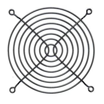 Решетка за вентилатор Evercool FG-120/M-BLACK, 120mm image