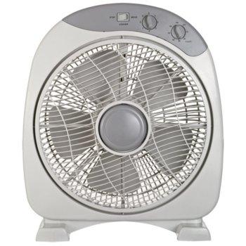 Настолен вентилатор Ayco ADF-9090, 40W, 3 степени, предпазна решетка, бял image