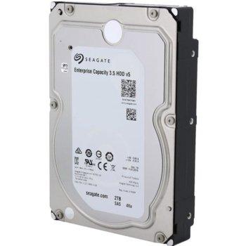 """Твърд диск 2TB Seagate ST2000NM0115, 7200rpm, SAS 12Gb/s, 128MB, 3.5"""" (8.89cm), 4KN image"""
